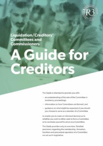 guide for creditors